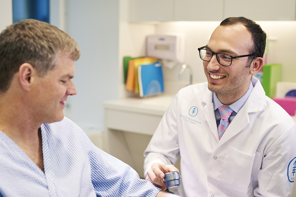 "Dermatologist Michael Marchetti participates in our annual free skin cancer screenings and, he says, is ""deeply committed to compassionate patient communication."""