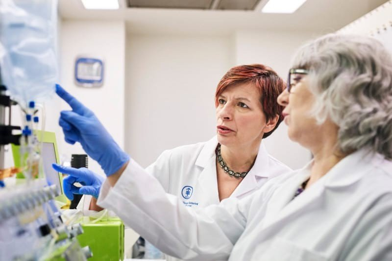 Isabelle Rivière directs the Cell Therapy and Cell Engineering Facility at MSK.