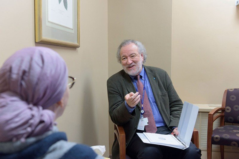William Breitbart, Chair of MSK's Department of Psychiatry and Behavioral Sciences