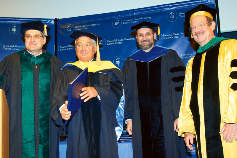 Pictured: Louis Gerstner, Criag Thompson, Kenneth Marians & Thomas Kelly