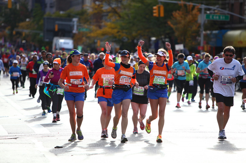 Pictured: Fred's Team Runners