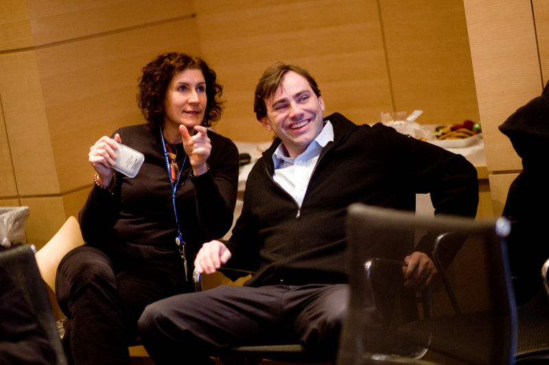 Human Oncology and Pathogensis faculty members Adriana Heguy and David Solit