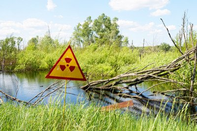 The 1986 explosion at the Chernobyl nuclear power plant released radioactive particles in every direction.