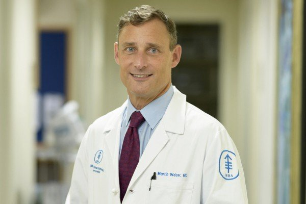 Memorial Sloan Kettering surgical oncologist Martin Weiser