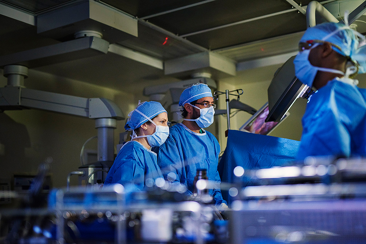 Our Department of Surgery is widely recognized for its expertise and innovation in cancer surgery.