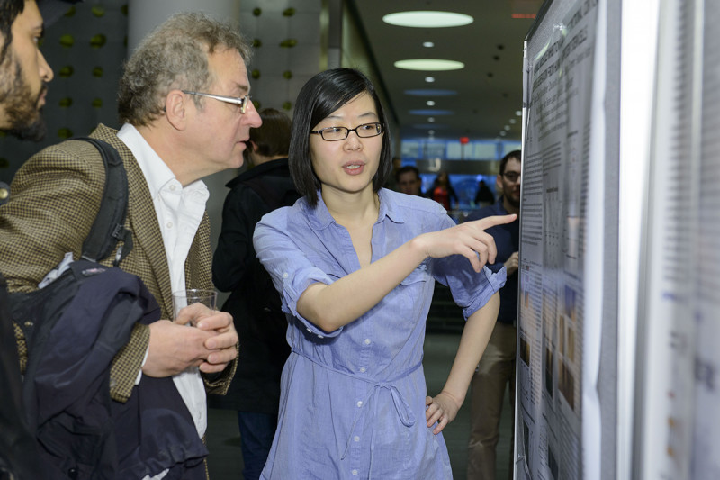 Yuchen Qu of the Sloan Kettering Institute discuses her work with Andreas Nagy (The Lunenfeld-Tanenbaum Research Institute)