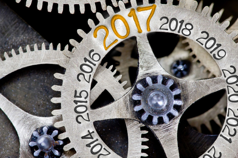 Gears with 2016 and 2017