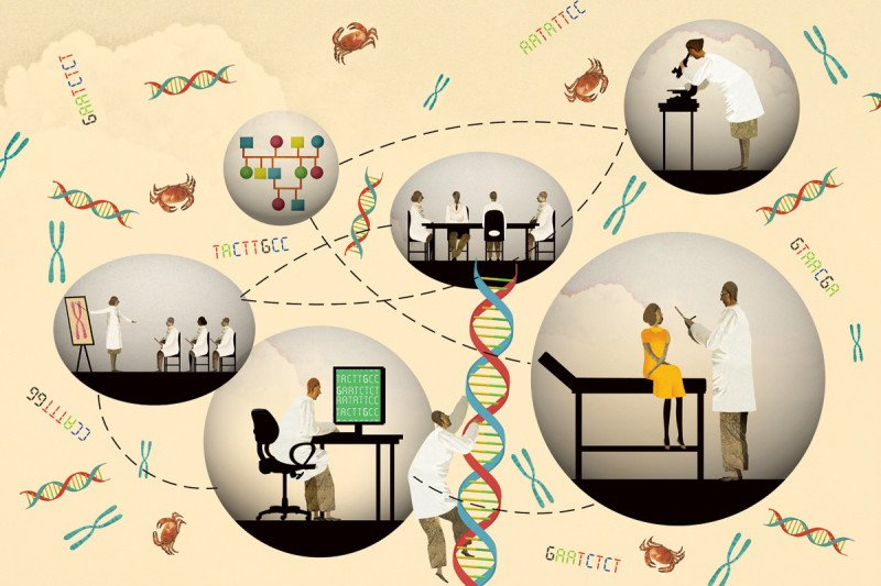 Cancer Genomics: Improved Understanding of Molecular Changes in Tumors Produces More-Specialized Treatments