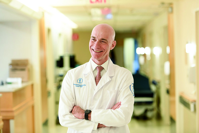 Breast cancer medical oncologist Mark Robson