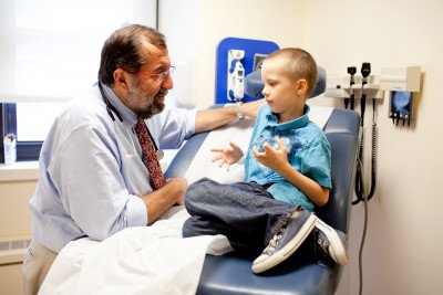 MSK pediatric bone marrow transplant specialist Farid Boulad