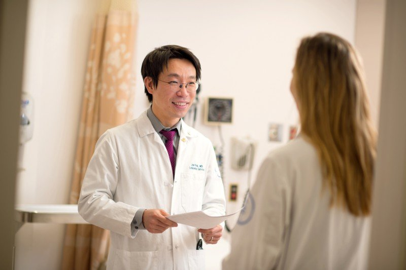 Jae Park is a physician and translational researcher who is leading several CAR T clinical trials.